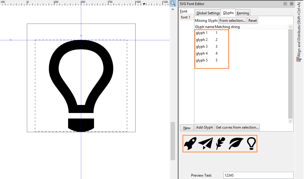 Learn to Draw 2D Art: Creating symbol font in Inkscape