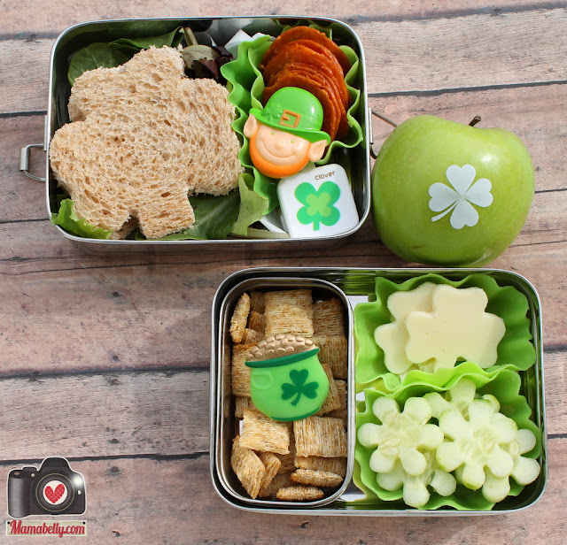 St.Patrick's Day School Lunch - mamabelly.com