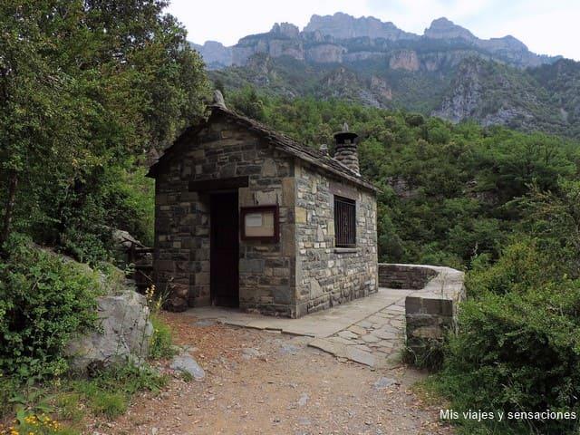 Casa forestal del Cañón de Añisclo