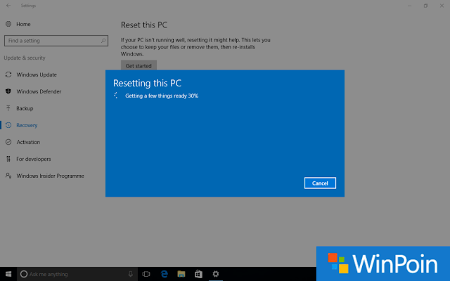 Cara Recovery Windows 10 Dengan Benar