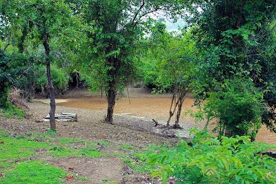 Sandy Li Phi Falls (Don Khon, Laos)