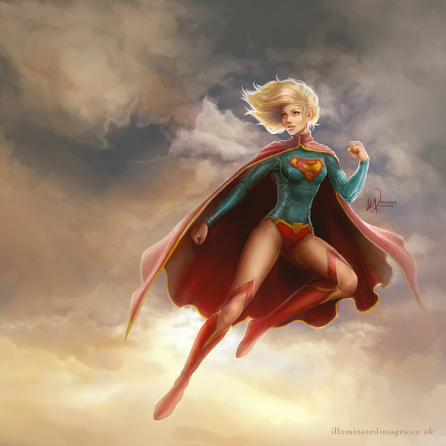 Supergirl art