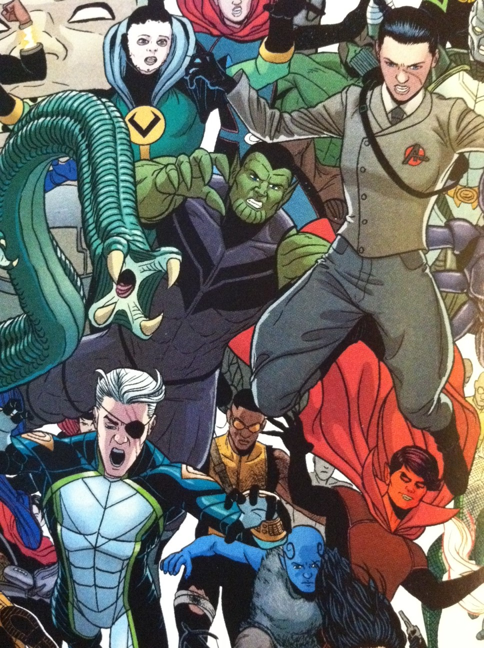 Reading, Watching, Looking, and Stuff: Young Avengers #9 ...