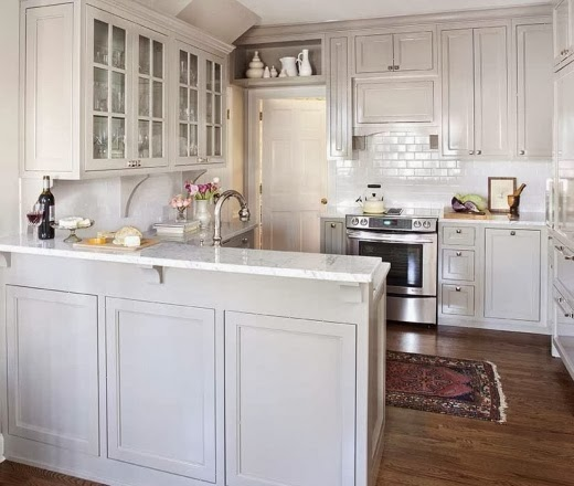 Kitchens With White Shaker Style Cabinets: Kristen F. Davis Designs: Shaker Style Cabinets