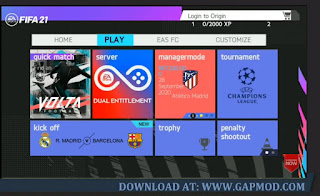 FIFA 14 MOD 21 Volta New Menu Faces Kits & Full Transfers Best Graphics