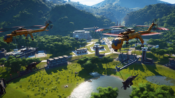 Jurassic World Evolution Full Game Setup
