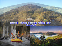 Trekking Semeru Tour Packages Bromo Rafting 4 days