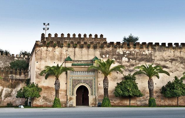 morocco meknes imperial city gateway