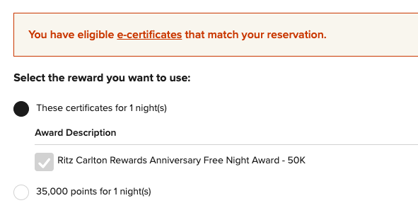 How To Use Marriott Free Night Certificate?