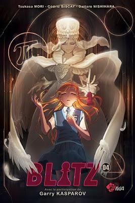 Sortie du tome 4 de Blitz, un manga consacré au jeu d'échecs