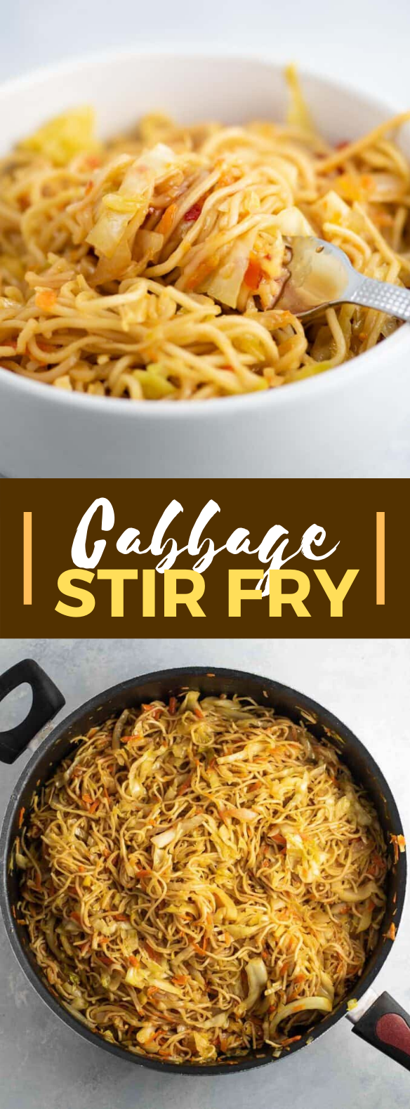 CABBAGE STIR FRY #vegetarian #veggies