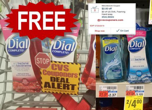 CVS Freebie on Dial Hand Soap 714-720