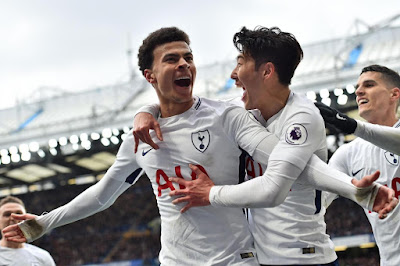 Highlight Chelsea 1-3 Tottenham, 1 April 2018