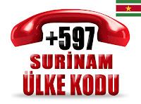 +597 Surinam ülke telefon kodu
