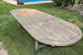 aceitar mesa exterior