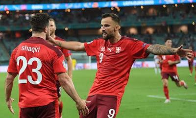 Euro 2020: Switzerland defeat Turkey 3-1