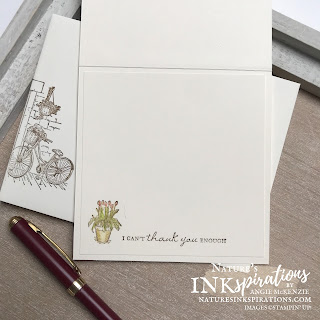 By Angie McKenzie for Stampin' Dreams Blog Hop; Click READ or VISIT to go to my blog for details! Featuring the Feels Like Home Cling Stamp Set (earn it for FREE during Sale-a-bration) and Brick & Mortar 3D Embossing Folder from the Stampin' Up! 2021-2022 Annual Catalog; #thankyoucards #simplestamping #watercolorpencils #blenderpens #stampinup #saleabration2021augsept #feelslikehome  #brickandmortar #diycrafts #handmadecards #stampindreamsbloghop #naturesinkspirations
