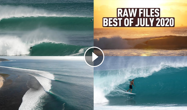 The Best Waves of JULY 2020 in Bali and Desert Point - RAWFILES