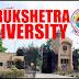 KURUKSHETRA UNIVERSITY , ADMISSION 2019