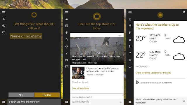 Cara Menggunakan Cortana di Windows 10