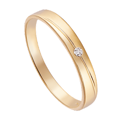 Nhẫn cưới Kim cương Vàng 18K PNJ