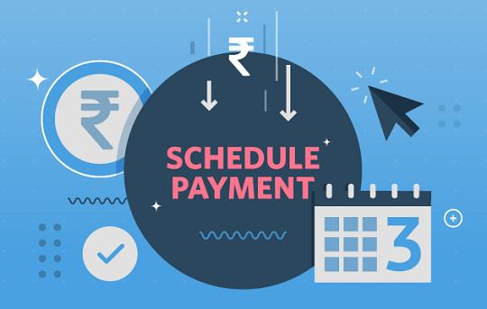 Schedule Payment, Instamojo