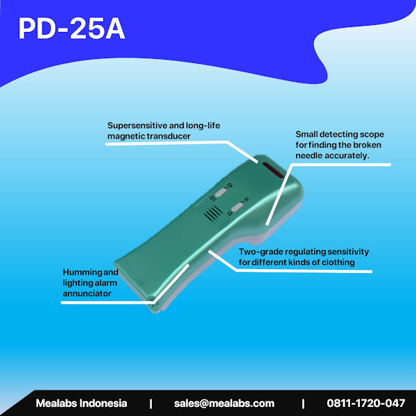 PD-25A Handheld Needle Detector
