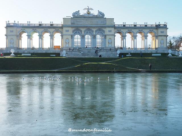 Gloriette en el Palacio de Schönbrunn