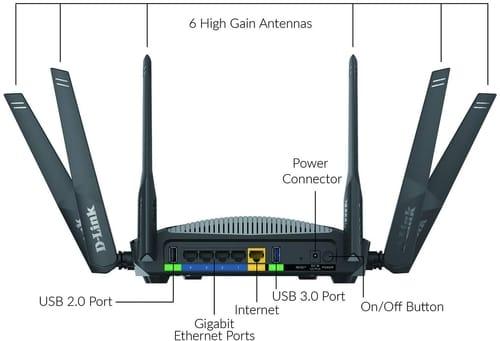 Review D-Link DIR-3040-US AC3000 Smart WiFi Router