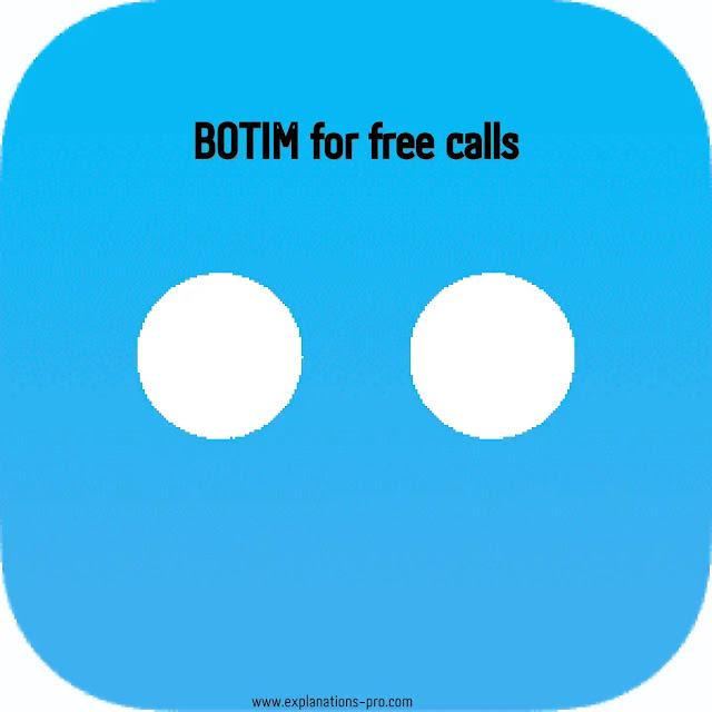BOTIM for free calls