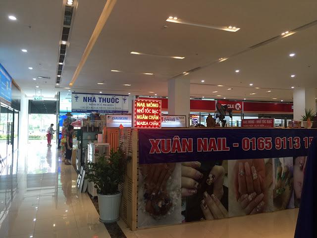 Khu trung tâm thương mại với đầy đủ tiện ích