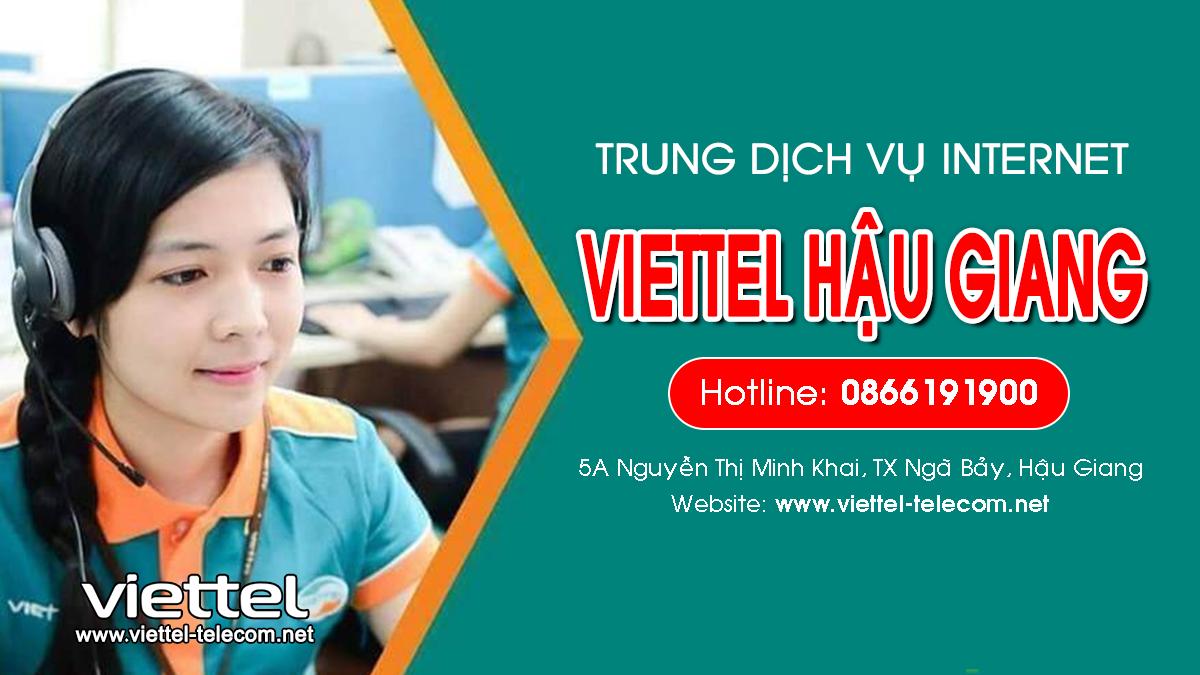 Viettel Hậu Giang - Tổng đài lắp mạng Internet và Truyền hình ViettelTV
