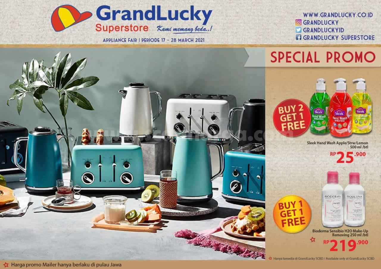 Katalog Promo Grand Lucky Superstore 17 - 28 Maret 2021