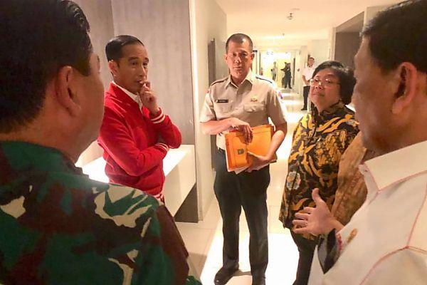 Jokowi: Kebakaran Hutan dan Lahan Bisa Dicegah Dari Awal - bone terkini