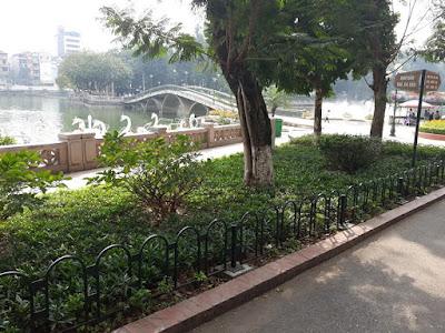 トゥーレ公園(Công viên Thủ Lệ)