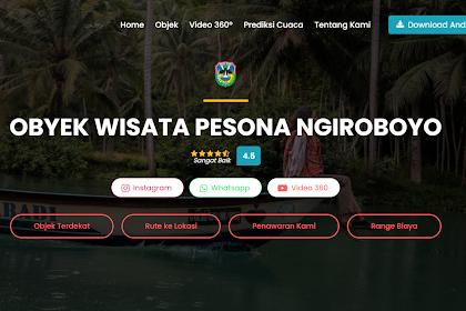 BI Launching Platform Virtual Tourism Destination, Wisatawan Dapat Mengunjungi Ngiroboyo Secara Virtual.