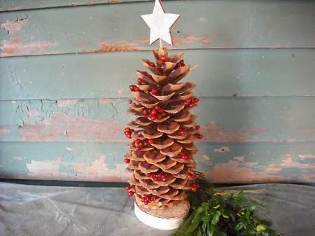 Imagenes De Adornos Navidenos Hechos Con Pinas.Econotas Com Adornos De Navidad Con Materiales Naturales