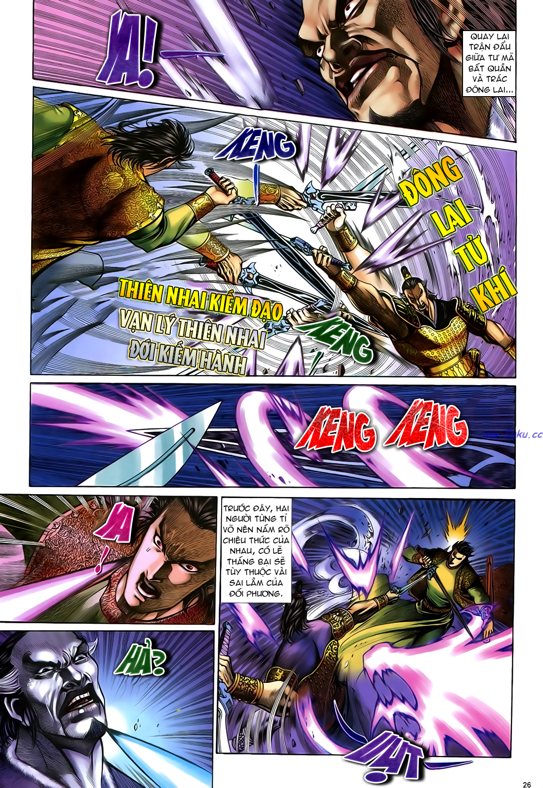 Anh hùng vô lệ Chap 24 trang 27