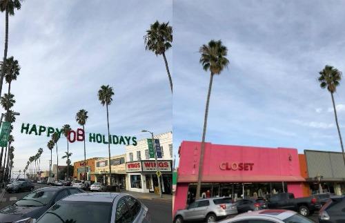 Ocean Beach main street - San Diego, CA