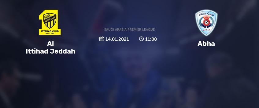 بث مباشر مباراة الاتحاد السعودي وابها