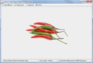 Sistem Pakar Penyakit Cabe Menggunakan Java & MySQL