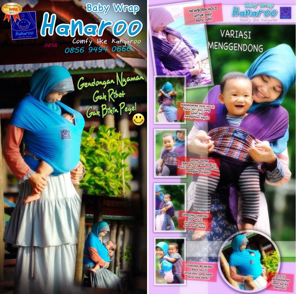 Jual Gendongan Bayi Hanaroo 2013