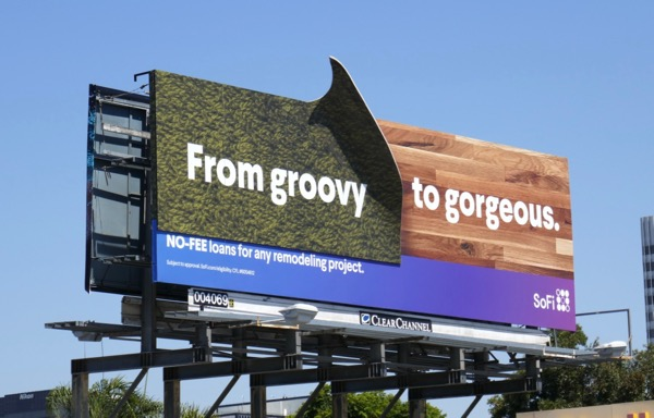 SoFi From groovy to gorgeous billboard