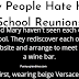 Why People Hate High School Reunions