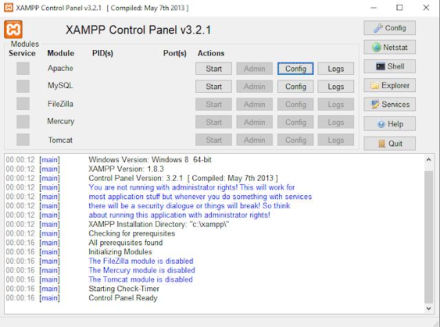 Memindahkan Folder Htdocs XAMPP Ke Directory Lain