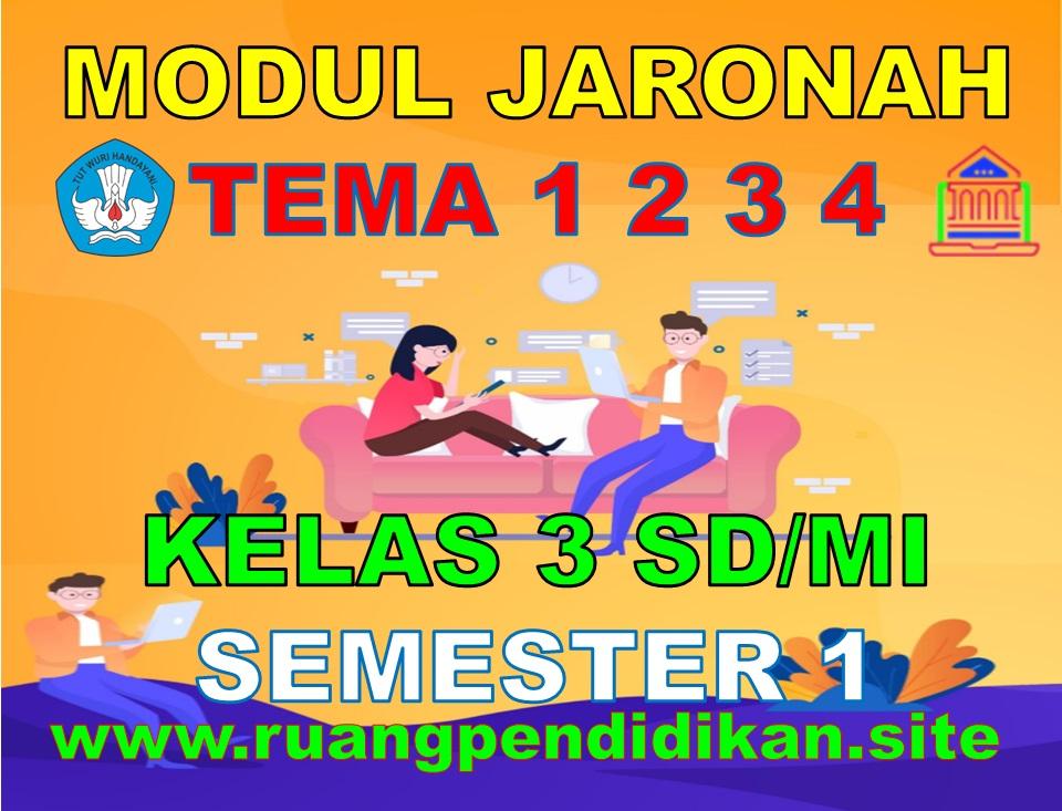Modul BDR/PJJ/Online Kelas 3 SD/MI