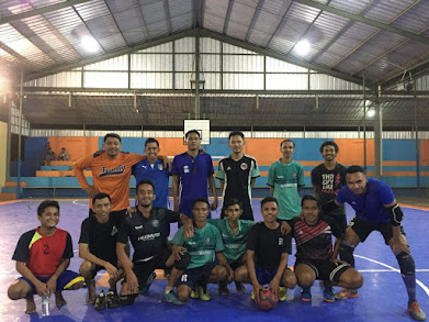 Futsal friendly match with junior