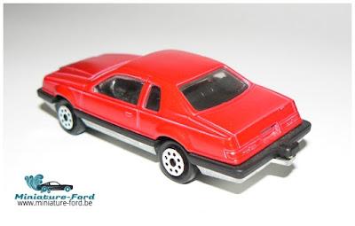 Majorette Ford Thunderbird