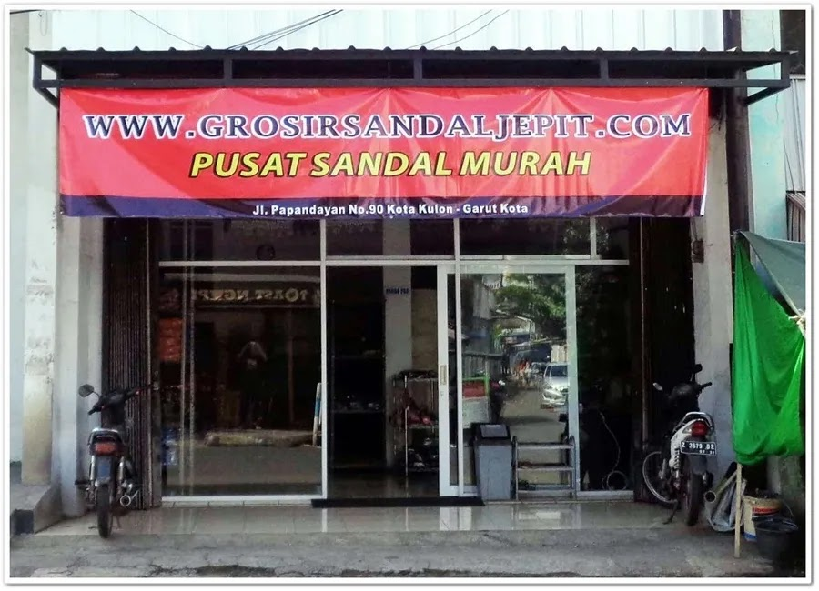 toko sandal murah garut terbaru