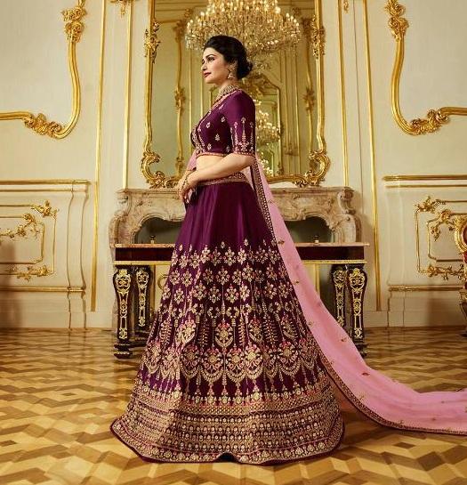 Vinay Sheesha Princess vol 4 Bridal Lehenga Choli Wholesaler